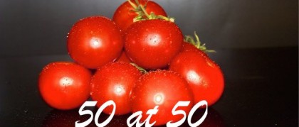 50 at 50 – grinding to a halt!