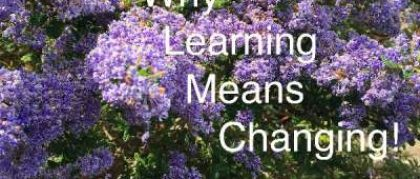 Why Learning means Changing!